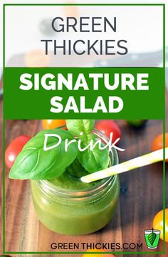 If you would like a sugar free, free fruit green smoothie, try Green Thickies Signature Salad Drink Recipe.  This is a very healthy vegetable based green smoothie!