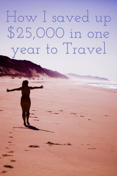 Here's how I saved up $25,000 to travel the world while living in NYC.