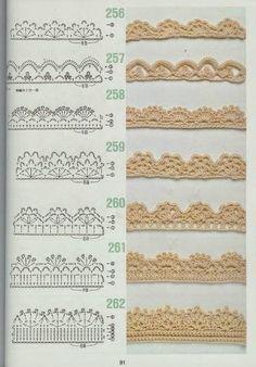 Puntillas para Toallas -servilletas y ropa