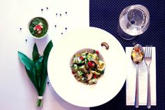 handmade: Tortellini mit Bärlauch-Ricotta-Füllung & Bärlauch-Pesto