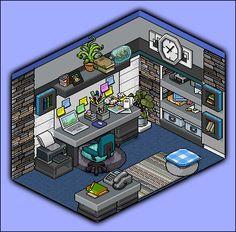 Studyroom design by Cutiezor.deviantart.com on @DeviantArt
