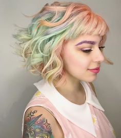 All the hair goals. | 17 Stunning Pictures That Will Make You Want To Dye Your Hair