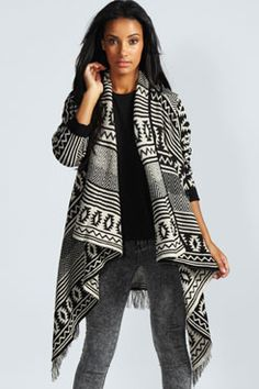 Nicole Waterfall Cardigan (349019) | Ideal World | Fashion ...