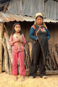 La Hu tribal people