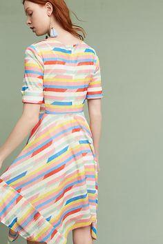 e065e6b3791d Slide View: 4: Carrie Tie-Waist Dress Carrie, Anthropologie, Carry On