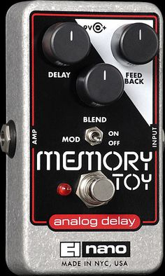 Electro Harmonix Memory Toy Guitar Effect Pedal