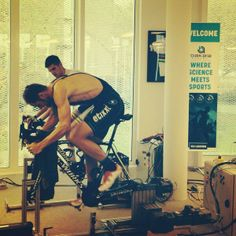 Tom Boonen warming up watts