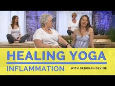 Inflammation may can be a minor nuisance for some, but has the potential for wreaking havoc on our health. It is a major risk factor for many chronic illness. Yoga Breathing, First Health, Restorative Yoga, Yoga Videos, Best Yoga, Menopause, Chronic Illness, Physical Fitness, Real People