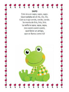 Spanish Lessons For Kids, Study Spanish, Montessori, Circle Time Songs, Spanish Songs, Preschool Songs, Phonological Awareness, Spanish Classroom, Nursery Rhymes
