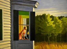 Edward Hopper - Cape Cod Morning, 1950 at American Art Museum Washington DC by mbell1975, via Flickr