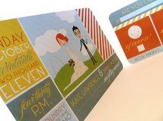 custom wedding invitations only $3/set