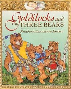 Goldilocks and the Three Bears by Jan Brett - Best books for children - fairy story.jpg