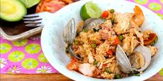 Colombian-Style Seafood, Chicken and Pork Rice (Arroz Mixto Colombiano)   The Latin Kitchen