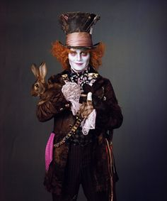 Sombrerero Loco Johnny Depp