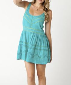 Take a look at this Veridian Green Mia Dress by O'Neill on #zulily today!