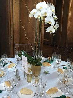 57 Great Orchid Centerpieces Images Wedding Centerpieces Dream