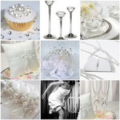 Diamond Themed Wedding Centerpieces | Bling Wedding Theme