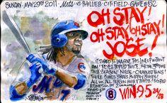 """Oh Stay! Jose! Jose! Jose! Oh Stay! Jose!"" by Joe Petruccio"
