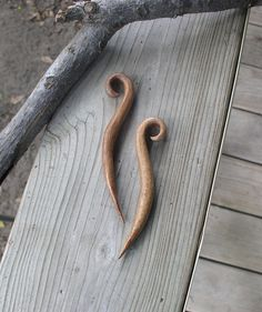 Wood Hair Stick pair Small Mesquite Hair by CrockettMountainWood, $25.00