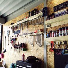 Yoshihideさんの、DIY,ガレージ,壁掛け,壁/天井,のお部屋写真