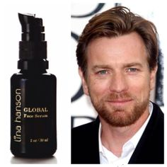 """""""Unbelievable! I just completed a three week trip with UNICEF through India, Nepal and Congo. I used the serum almost every night and though the trip has been extreme with sun, heat, dirt and lack of washing it has kept my skin in great shape. I love it."""" -Ewan McGregor"""