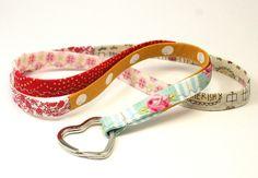 Schlüsselbänder - Schlüsselband Stoff handmade Schlüsselanhänger - ein Designerstück von LeneInLove bei DaWanda