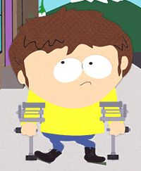 South Park wanted to have characters that were disabled be apart of the group. The wanted to show disabilities that were more than just ones that needed a wheel chair.