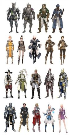 Bless - Armour and costume designs