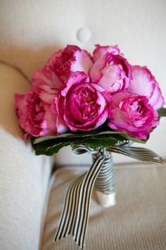Hot Pink Peony Bouquet #helzbergdiamonds #crazypinlove