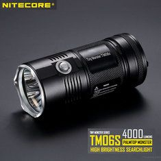 ANY FLASHLIGHT FROM NITECORES TINY MONSTER SERIES IS WORTH OWNING. THERE SERIOUS FLASHLIGHTS WITH SERIOUS POWER .http://www.banggood.com/Nitecore-TM06S-PALMTOP-MONSTER-4xCREE-XM-L2-U3-4000LM-LED-Flashlight-p-1012233.html?p=UD02118312398201701E