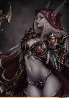 Jungon Kim, jungon0601, artist, Sylvanas Windrunner, Warcraft, Blizzard, Blizzard Entertainment, fandom, Warcraft ero