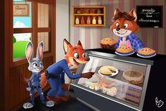 Zootopia es una de las películas más taquilleras del año y es la cinta animada más exitosa para Walt Disney Animation Studios. Muchas personas comparten sus dibujos como parte de su gusto por la película.