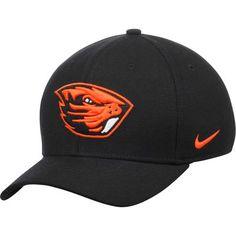 official photos 877d3 3e8af Oregon State Beavers Nike Swoosh Performance Flex Hat - Black