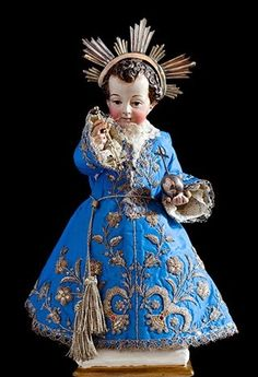 Niño Jesús -talla de vestir- que según la tradición perteneció a Santa Teresa de Jesús, Cuenca.
