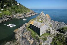 The Net Loft - Polperro Harbour Entrance, Polperro, Cornwall, England
