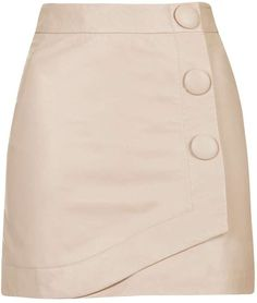 See this and similar Topshop mini skirts - Look to wrap styling and a mini length to update the classic skirt this season. This blush style comes finished with. Pink Leather Skirt, Leather Mini Skirts, Essentiels Mode, Vetement Fashion, Topshop Skirts, Pencil Skirt Outfits, Classic Skirts, Cute Skirts, Fashion Dresses