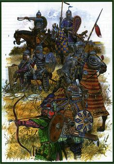 "Warriors of the Mongol ""Golden Horde"" of Batu Khan."
