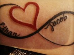 infinity heart tattoo - Google Search More