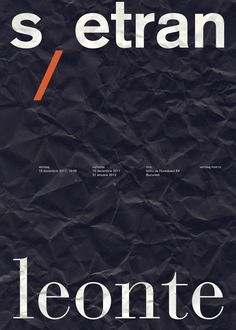 Posters by Daniel & Andrew , via Behance
