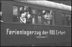 https://flic.kr/p/yeteS3 | DDR Pionierlager,DDR Kinder,DDR Pioniere | Ferienlagerzug der DDR DR Erfurt,Pionierlager um 1955