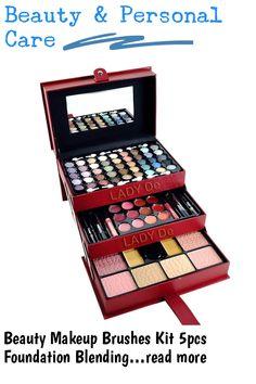 Kit Includes: **45Pcs Eye Shadow **12Pcs Lip Color **2Pcs Press Powder **2Pcs Concealer **2Pcs Lip Gloss **2Pcs Lipsticks **2Pcs Eye Pencils **4Pcs Blushes **1Pc Blush Brush #makeupsets
