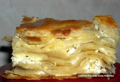 Serbian food: Gibanica (FAVORITE!)  mama still makes this sometimes