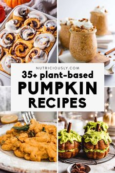 The best sweet and savory vegan pumpkin recipes you'll want to enjoy all fall and winter! Find delicious desserts like pumpkin pie, mug cakes, cookies or rolls alongside savory pumpkin dinner ideas like casseroles, savory scones, mac and cheese, stir fries or salads. Savory Pumpkin Recipes, Vegan Pumpkin, Savory Scones, Winter Food, Mac And Cheese, Delicious Desserts, Vegan Recipes, Dinner, Breakfast