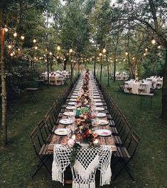 ✨ Who's inspired? Leave a comment below! Decor by Hochzeitswahn . eddingforward - Decoration For Home Magical Wedding, Dream Wedding, Luxury Wedding, Summer Wedding, Wedding Hair, Bridal Hair, Bridal Tips, Forest Wedding, Autumn Wedding