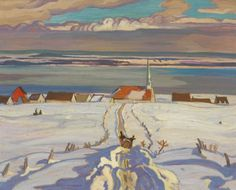 """""""Painting Canada - Tom Thomson and the Group of Seven"""" --Fabulous!"""