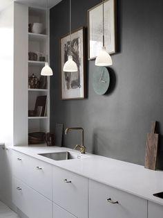 marmor kuche mit beton wand minimalistisch design, 615 besten kÜchen - kitchen bilder auf pinterest in 2018 | home, Design ideen