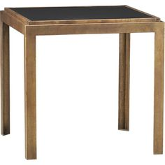 Pascal Bunching Table in Side, Coffee Tables | Crate and Barrel - So close!  But not quite tall enough.
