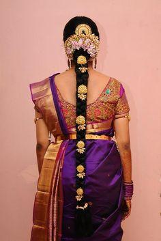 Flower Braid for the bride