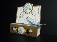 The Craft Spa: Elegant Soiree DSP & SAB Punch Bunch Ferrero Rocher Treat Holder