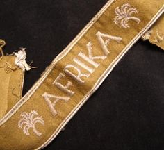 Heer Afrika With Palms Cuff Title - Provenance.